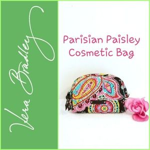 Vera Bradley Parisian Paisley Cosmetic Bag in EUC